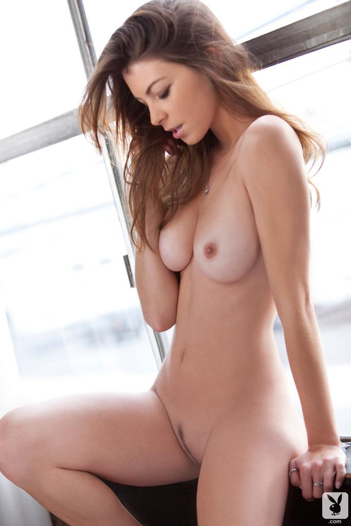 Amber Sym Playboy Nude