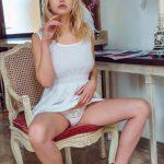 Mary Lin – White dress